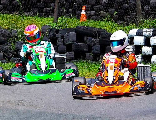 Cracking karting at iDube