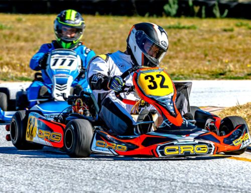 Rotax MAX Warms Up in PE